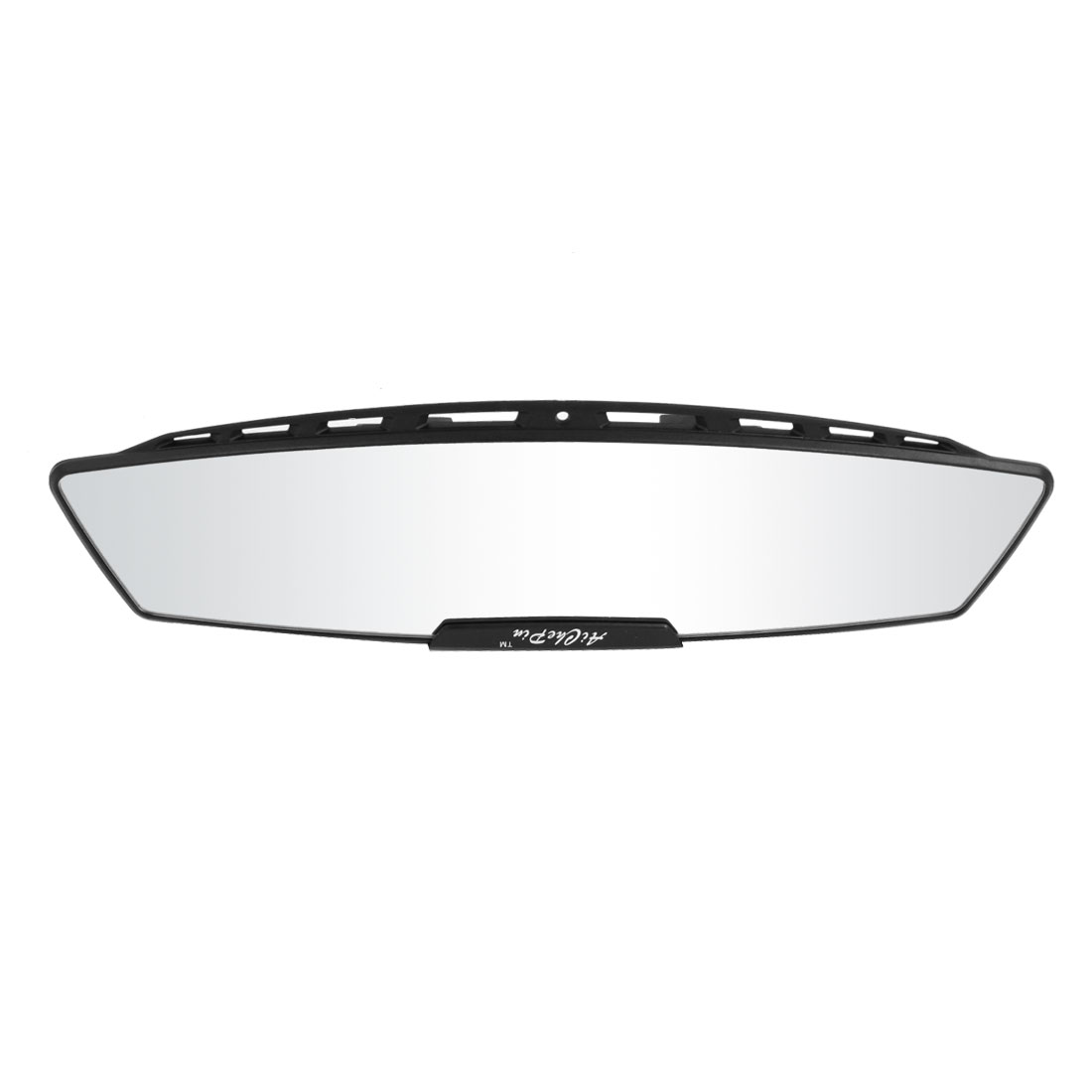 300mm Wide Curved Interior Clip On Rear View Mirror Black for Car Truck