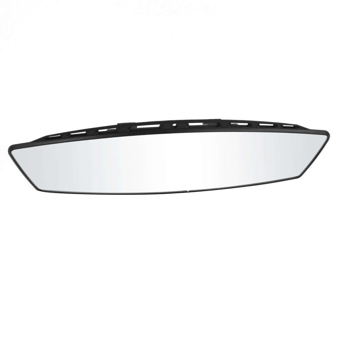 Car Interior Wide Curved Interior Clip On Rear View Mirror 300mm Black