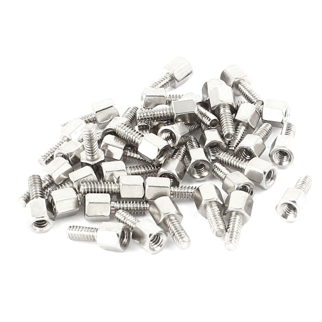 40Pcs M2.7x7mm Male to Female Thread Hex Standoff Hexagonal Spacer