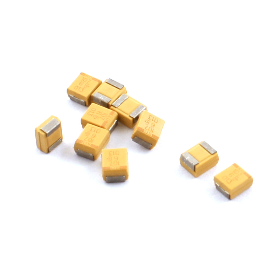 10Pcs 3528-19 B Type 100uF 6.3V Chip Tantalum Capacitors