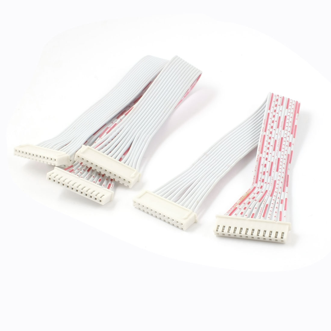 "3pcs 20cm 7.9"" IDC Ribbon Cable Gray for ISP JTAG ARM"