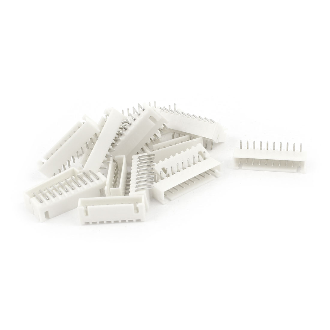 20pcs Right Angled 2.54mm Spacing 10-Pin JST XH Connector Pin Header