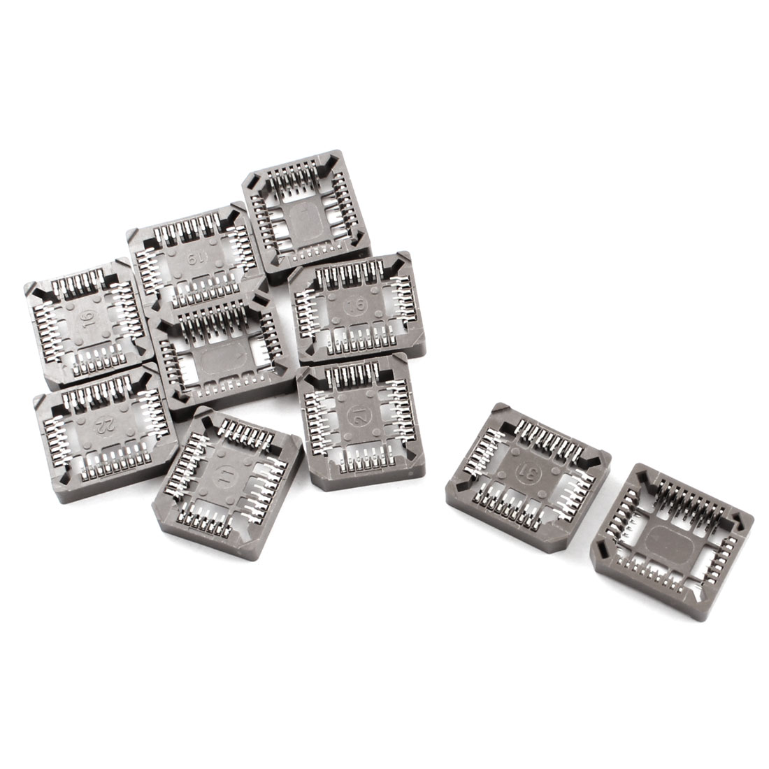 SMD SMT PLCC32 DIP IC Sockets 10 Pieces