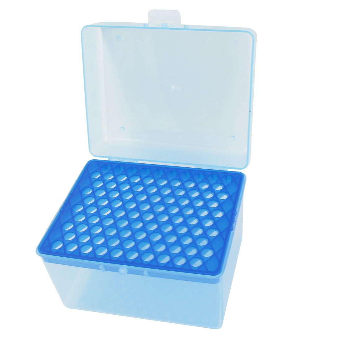 Laboratory 100 Positions 1mL Rectangular Pipette Pipettor Tip Holder Box