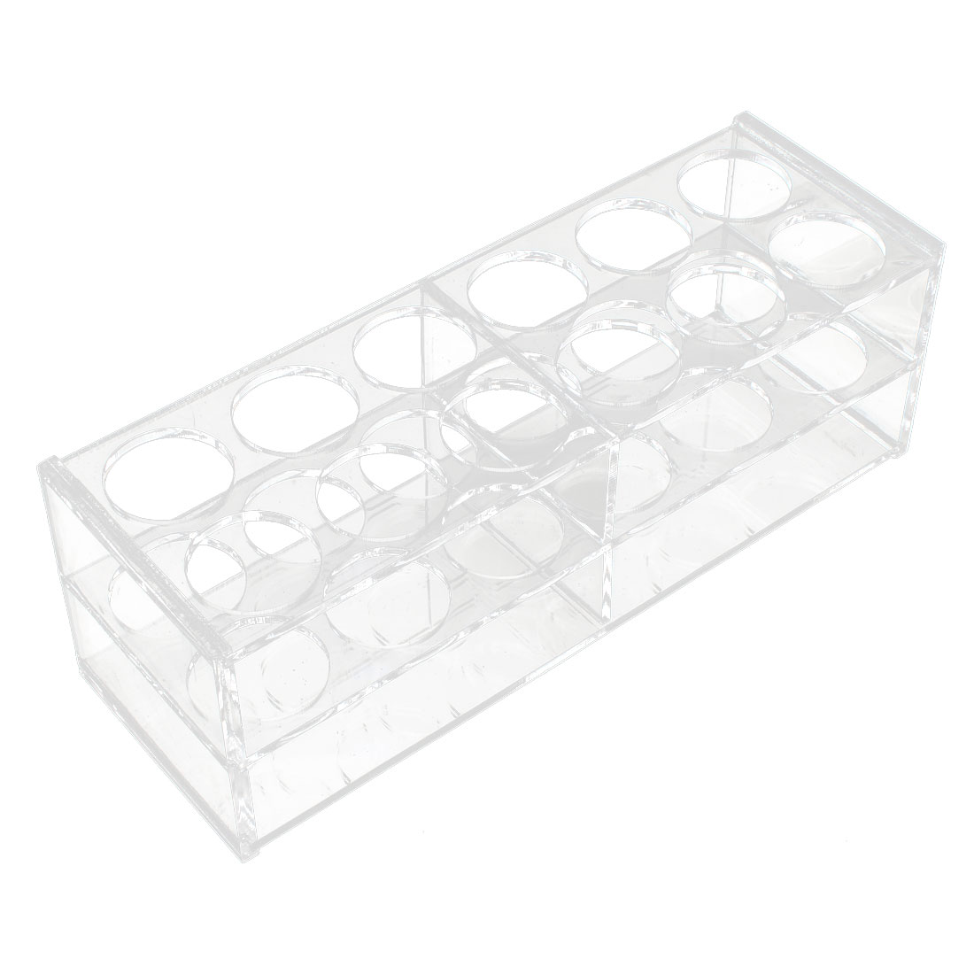 Lab Clear Plastic 24 Sockets 5ml Centrifuge Tube Holder Stand Rack