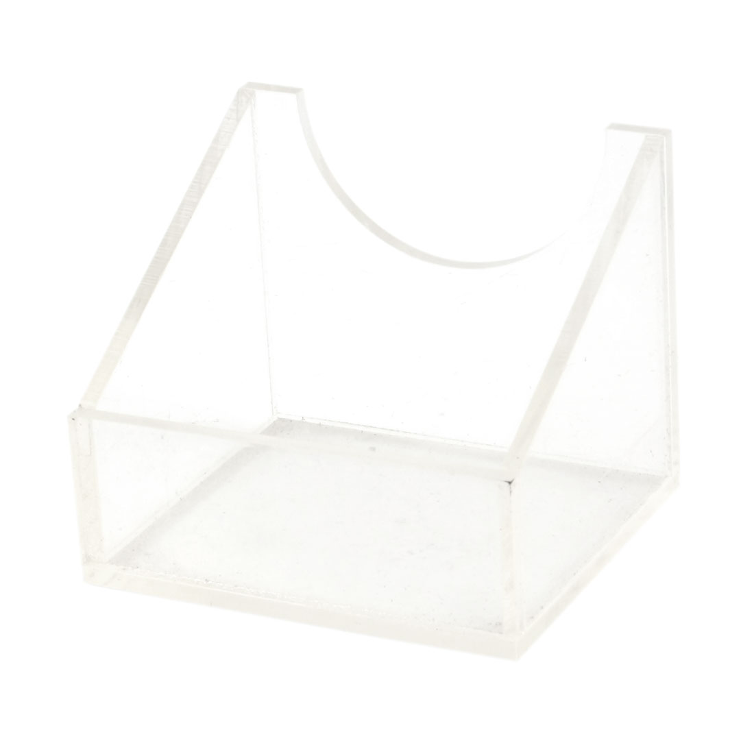 Lab Test Clear Plastic 100mL Serum Bottle Stand Rack
