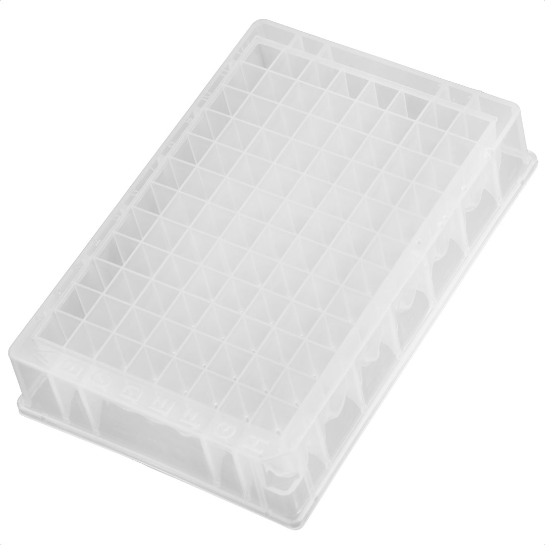 Lab 1ml 96 Square Shape Hole Well PCR Plate for DNA RNA Extraction