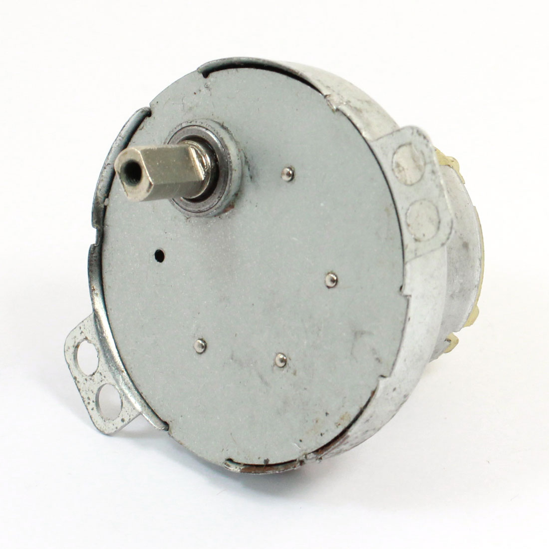 DC6-12V 12-14RPM 4mm Dia Drive Shaft Speed Reducing Gear Box Motor