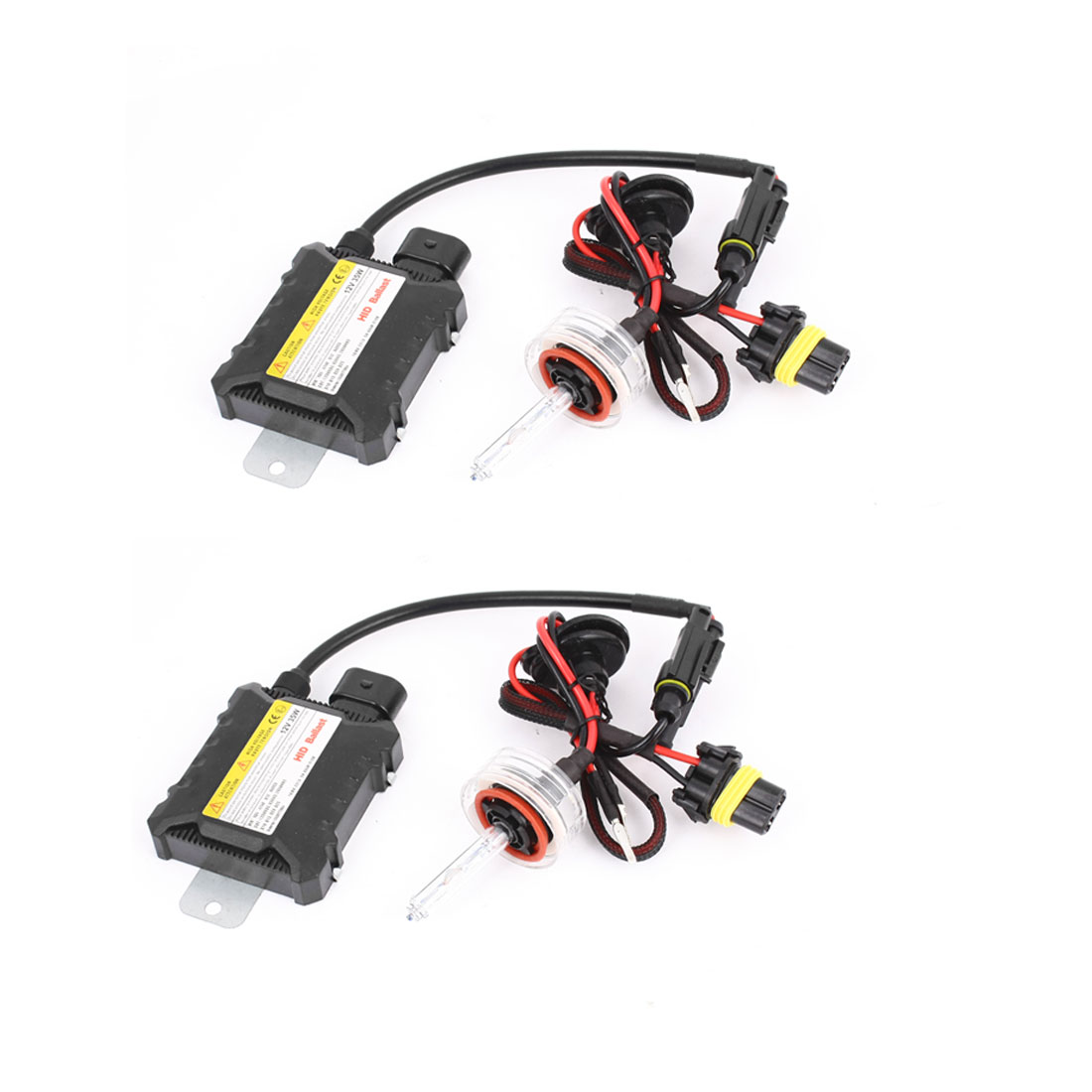 2 Pcs 8000K 12V 35W Car HID Xenon Conversion Kit Slim Ballast H11 Bulbs Headlight