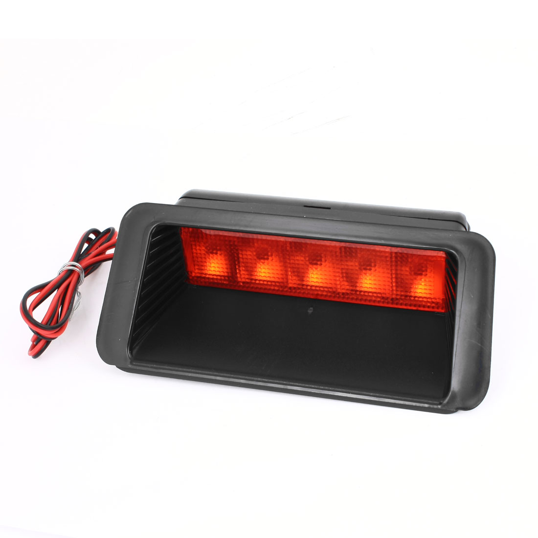 Car Auto Vehicle Trunk 5 Red LED Braking Stopping Lamp Reversing Light 12V