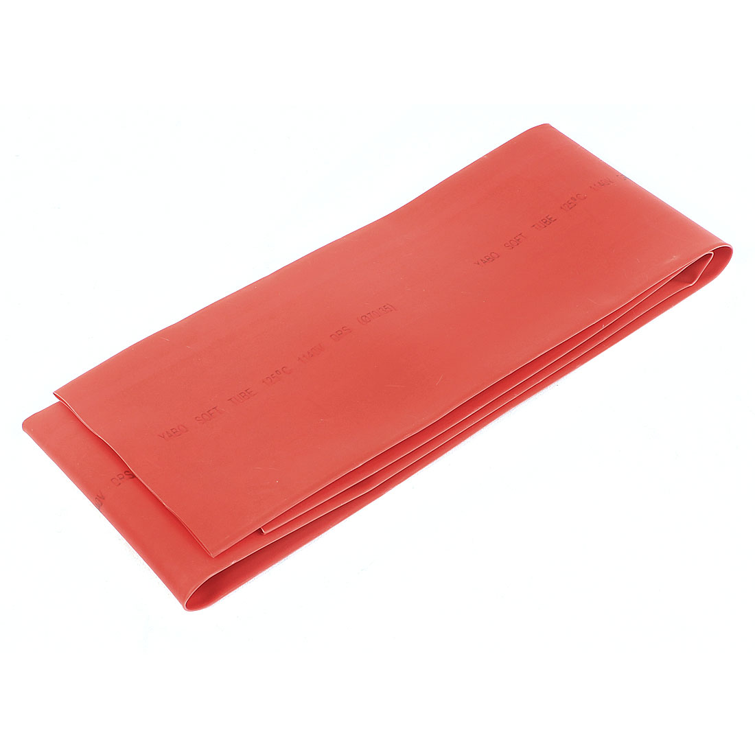Red 70mm Diameter 2:1 Polyolefin Tube Sleeving Heat Shrink Tubing 1M 3.3Ft