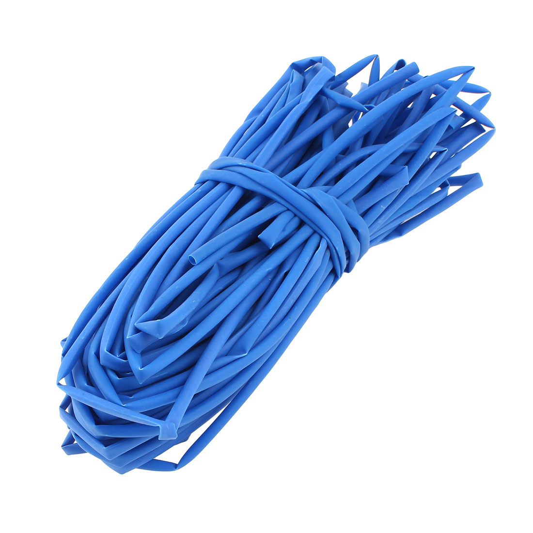 Ratio 2:1 Blue Polyolefin 3mm Dia Heat Shrink Cover Wiring Shrinkable Tube 20M