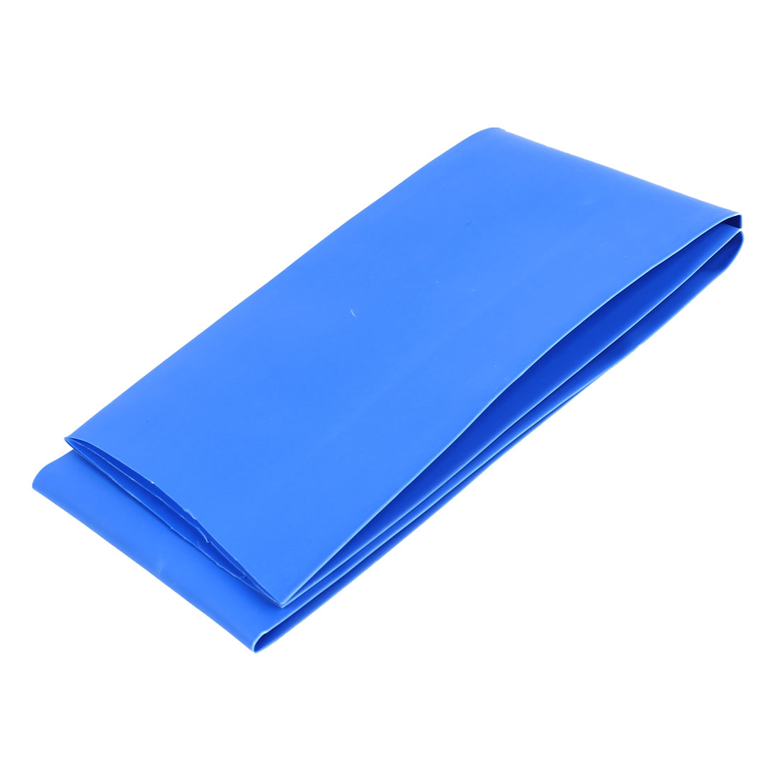 Blue 70mm Diameter 2:1 Polyolefin Tube Sleeving Heat Shrink Tubing 1M 3.3Ft