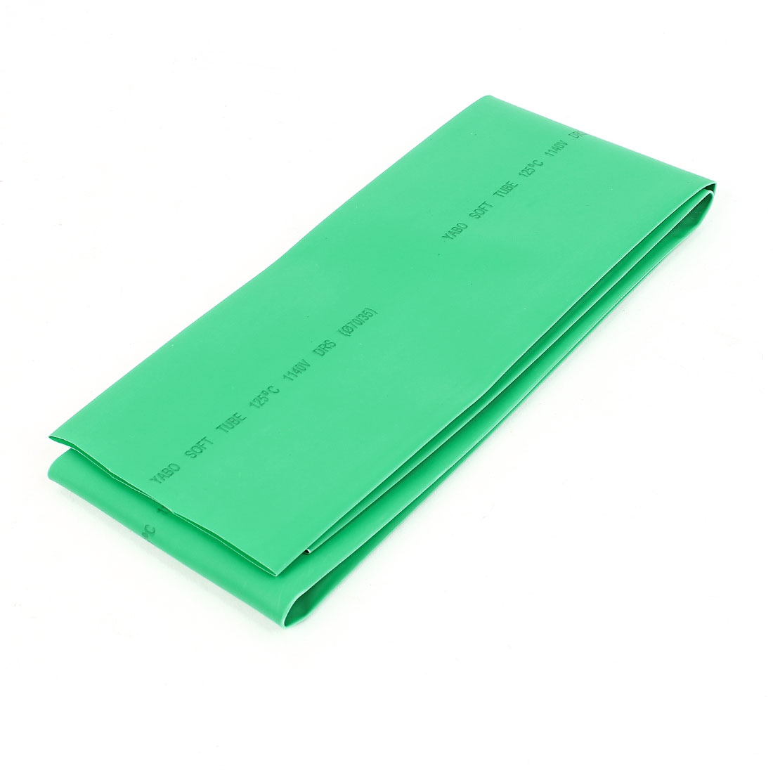 Green 70mm Diameter 2:1 Polyolefin Tube Sleeving Heat Shrink Tubing 1M 3.3Ft