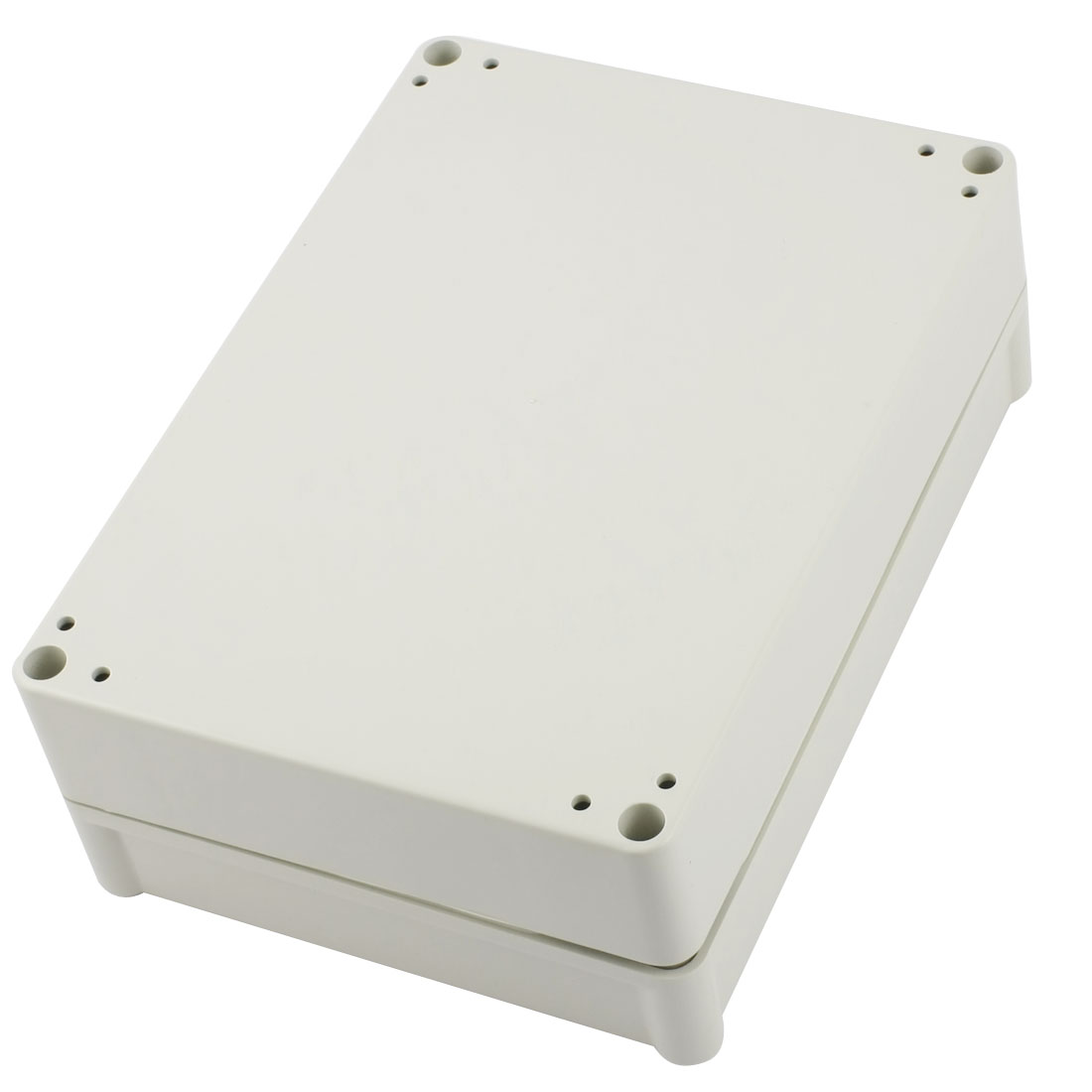 Waterproof Light Gray Plastic Sealed Electric Junction Enclose Box Power Protection Case 180mm x 130mm x 65mm