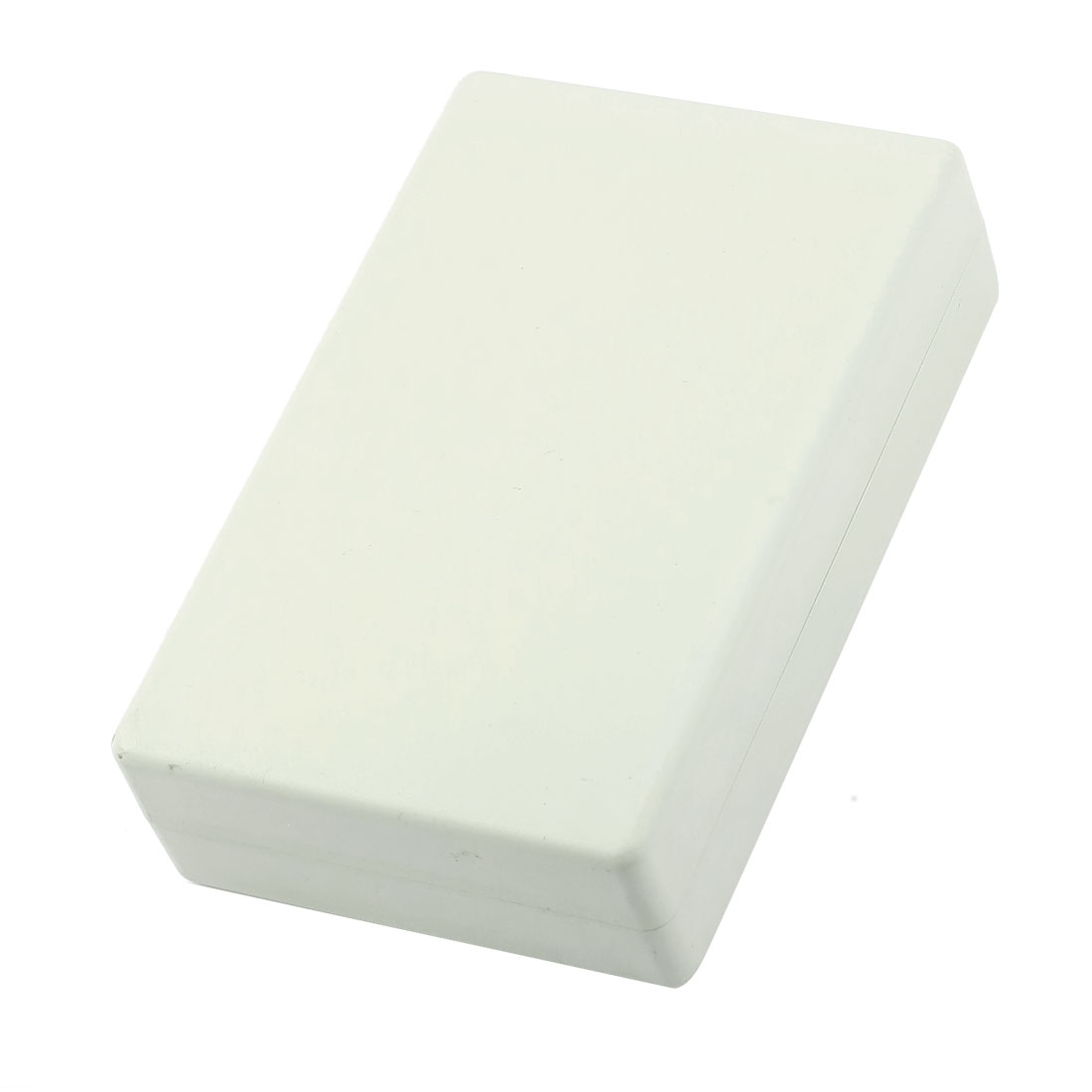 Light Gray Plastic Sealed Electric Junction Enclose Box Power Protection Case 125mm x 80mm x 33mm