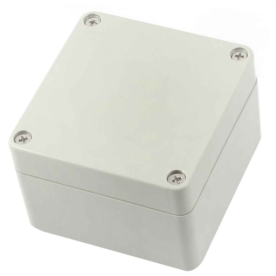 Surface Mount Waterproof Plastic Sealed Electric Junction Enclose Box Power Protection Case 83mm x 81mm x 56mm