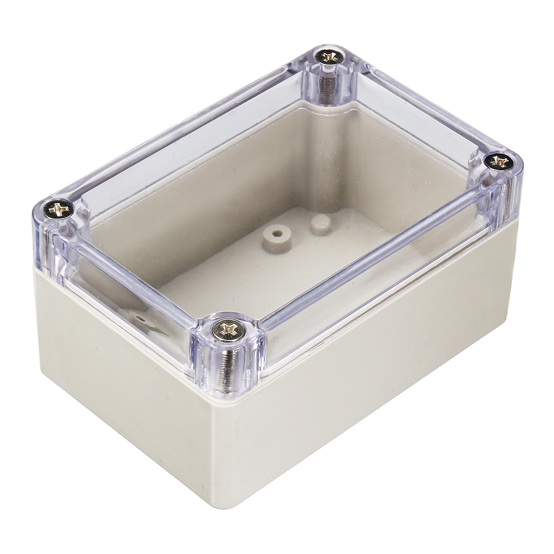 Clear Plastic Dustproof IP65 Sealed DIY Enclosure Junction Box Protector Case 100mm x 68mm x 50mm