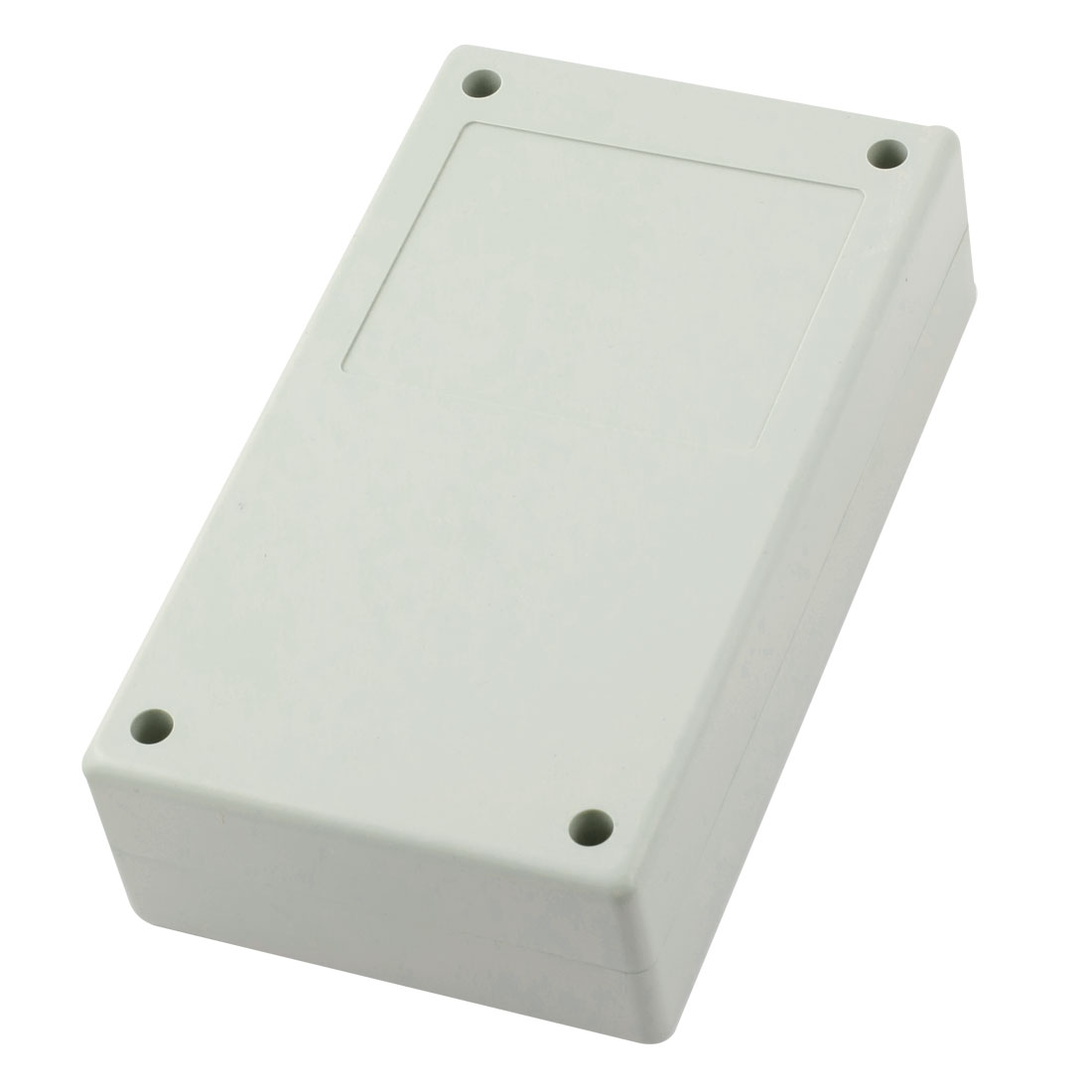 Light Gray Plastic Waterproof Sealed Electric Power Junction Enclose Box 140mm x 82mm x 39mm