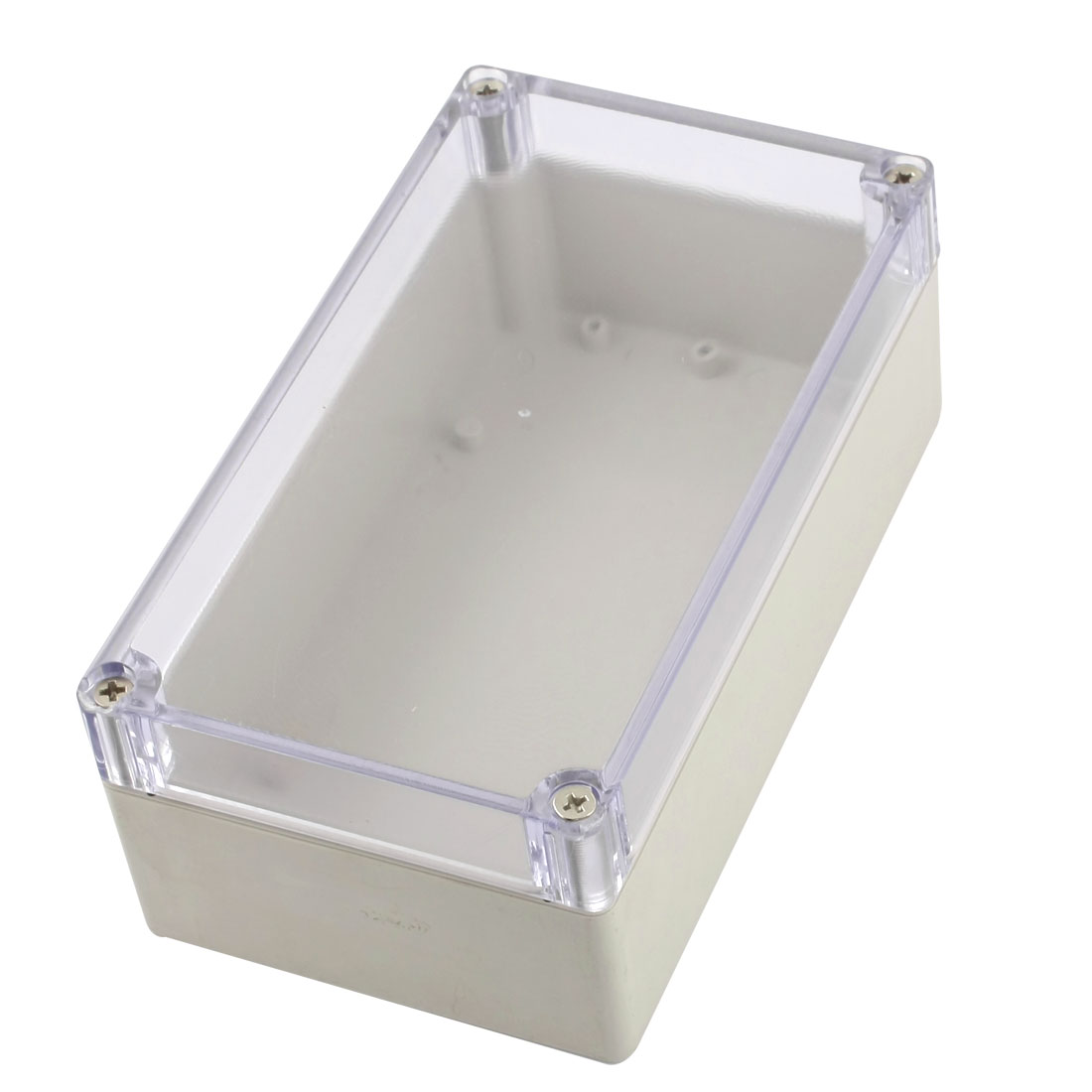 158mm x 90mm x 60mm Dustproof IP65 Clear Cover Plastic Sealed DIY Junction Enclose Box Power Protection Case