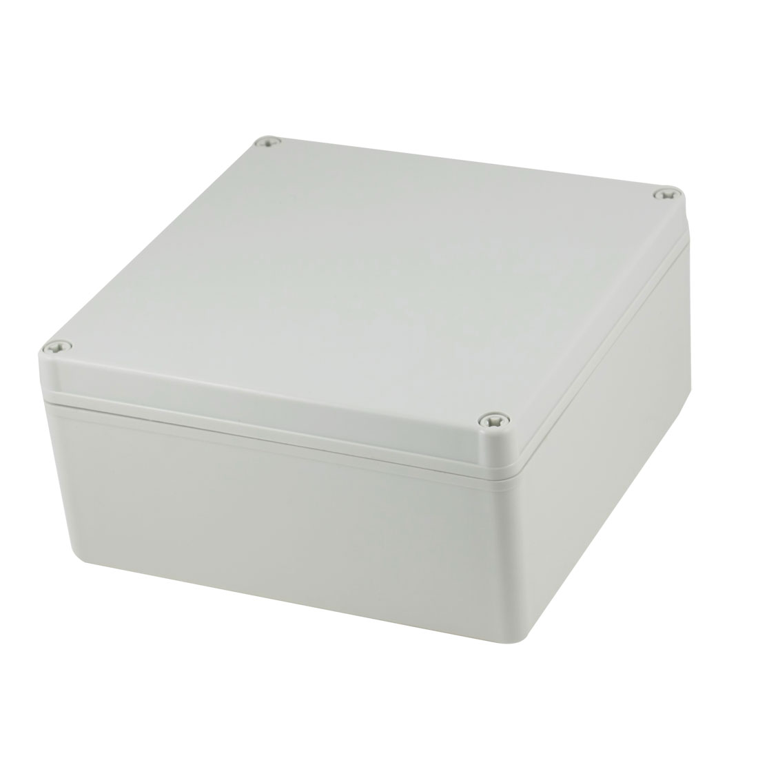 195mm x 195mm x 95mm Rectangle Plastic Sealed Electric Junction Enclose Box Power Protection Case