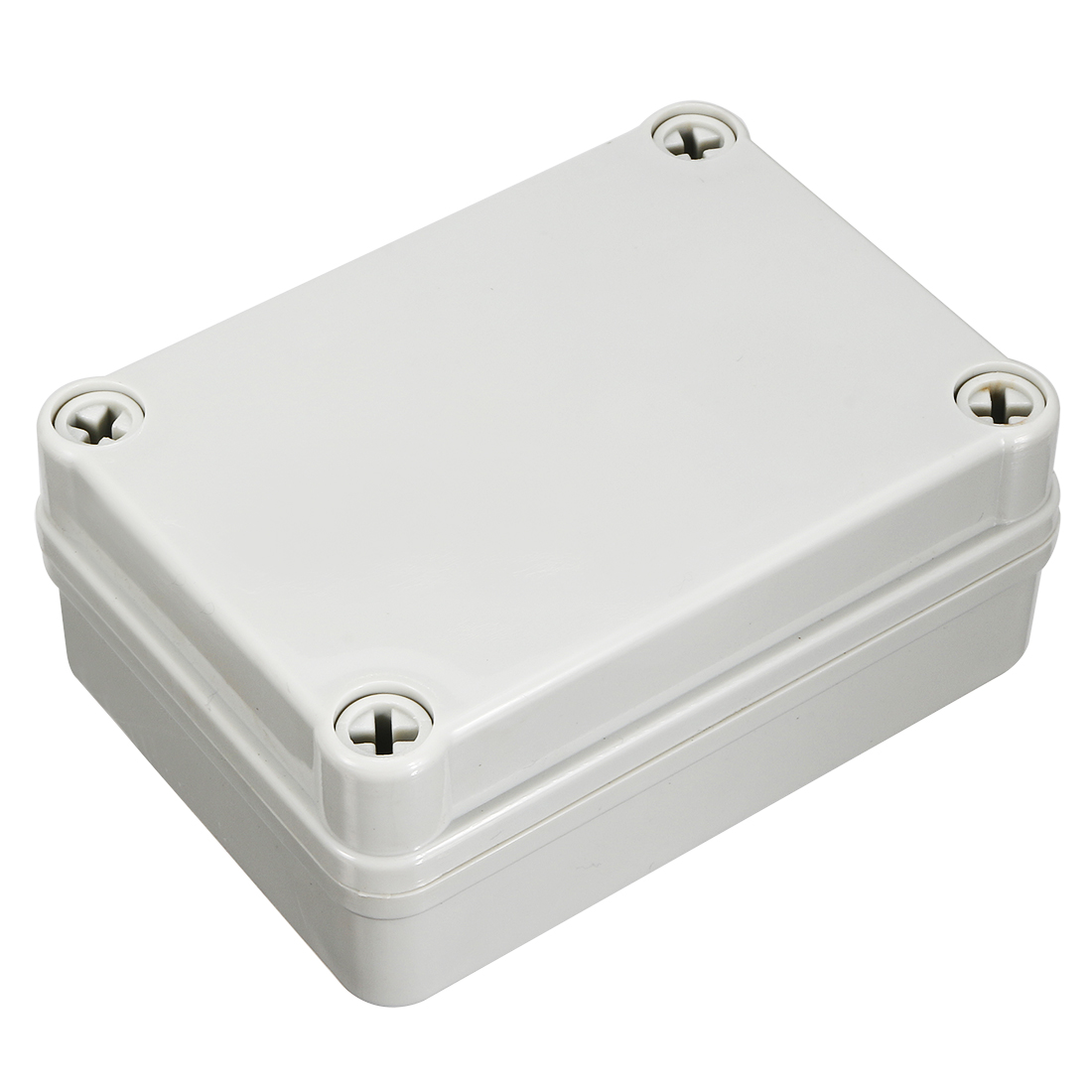 110mm x 80mm x 45mm Waterproof Rectangle Plastic Sealed Junction Enclose Box Power Protection Case