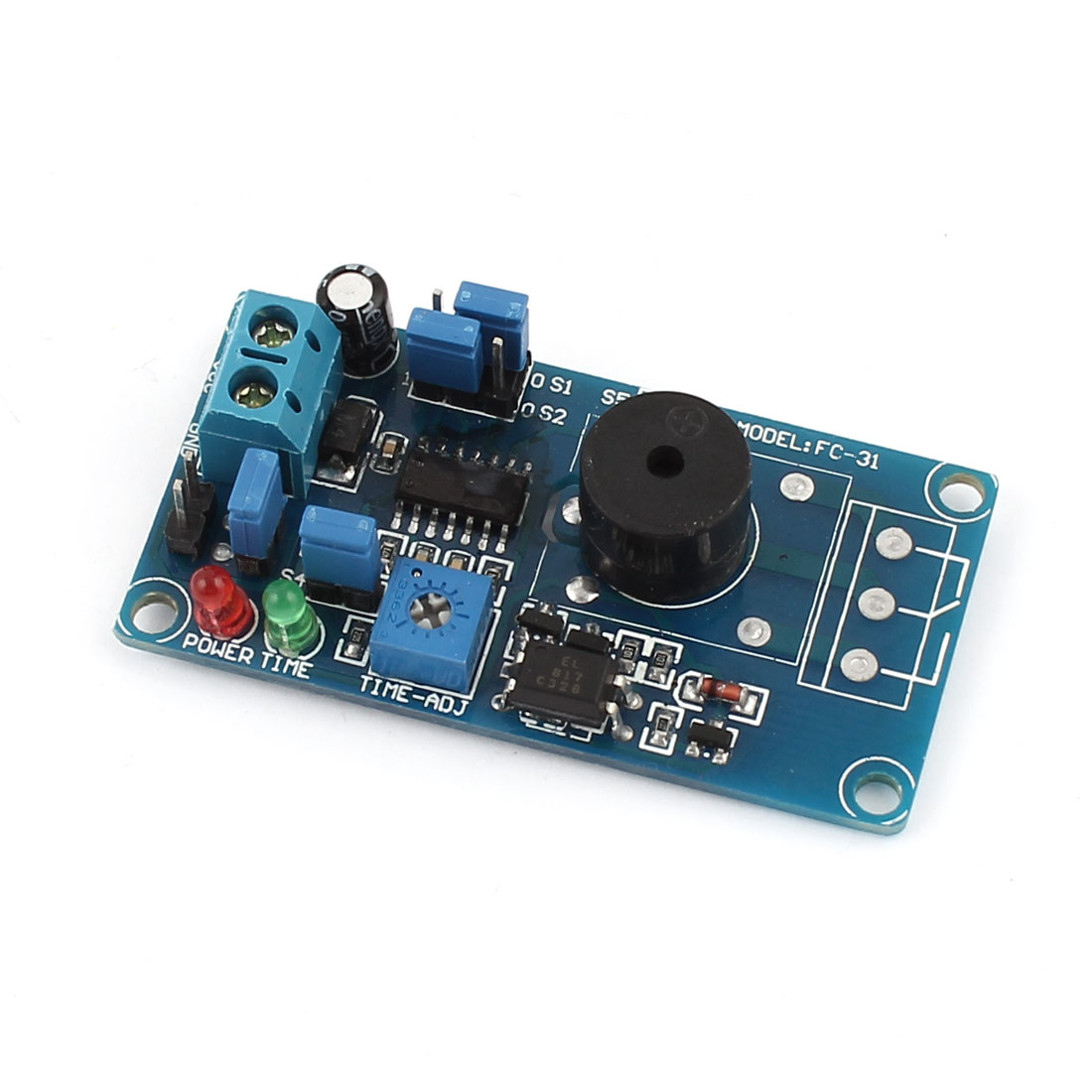 FC-31 DC 12V High Low Level Buzzer Alarm Delay Circuit Module Blue