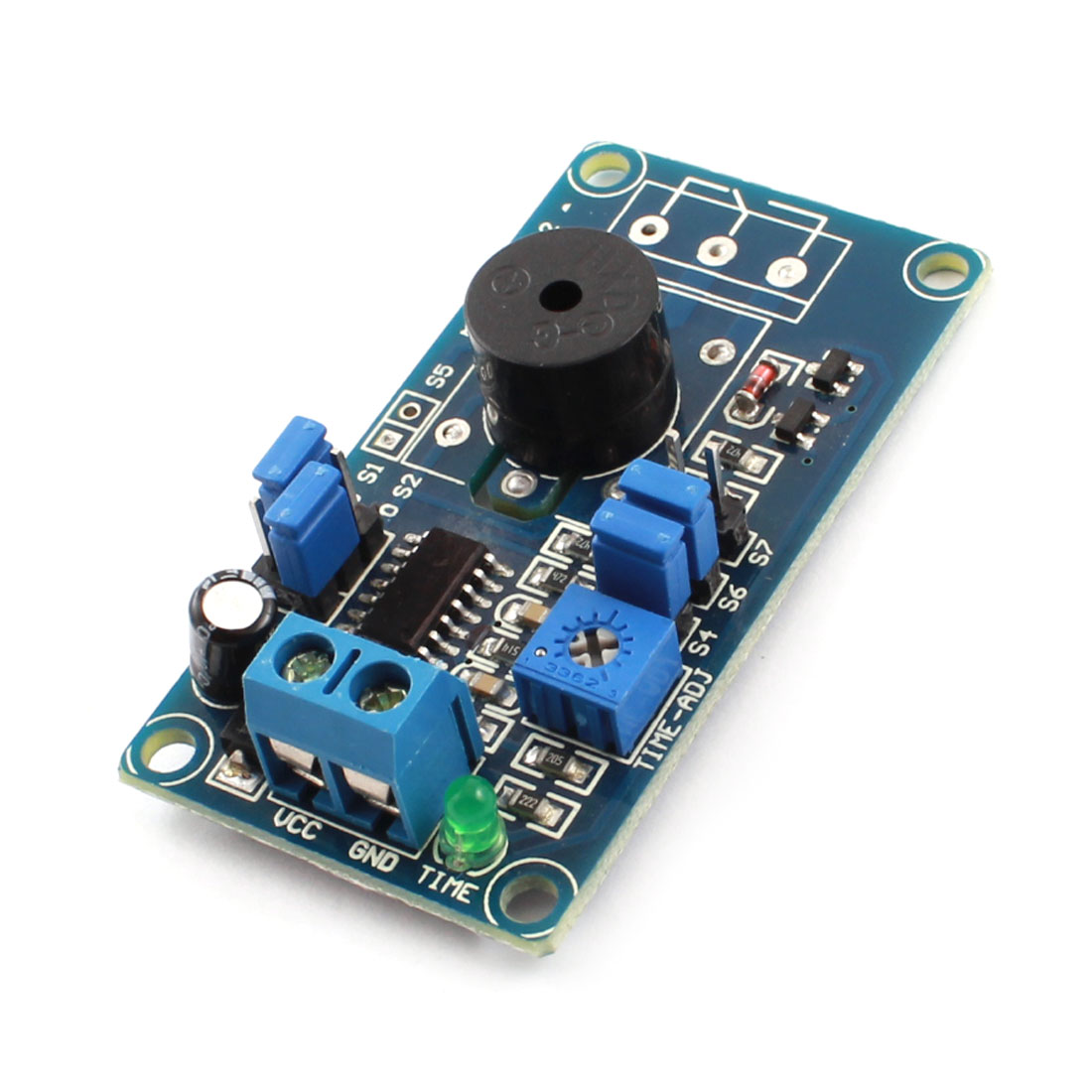 FC-32 DC 5V 85dB Power-On Buzzer Alarm Time Delay PCB Circuit Board Module