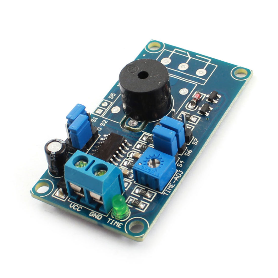 FC-32 DC12V 85dB Power On Buzzer Alarm Time Delay Module PCB Circuit Board
