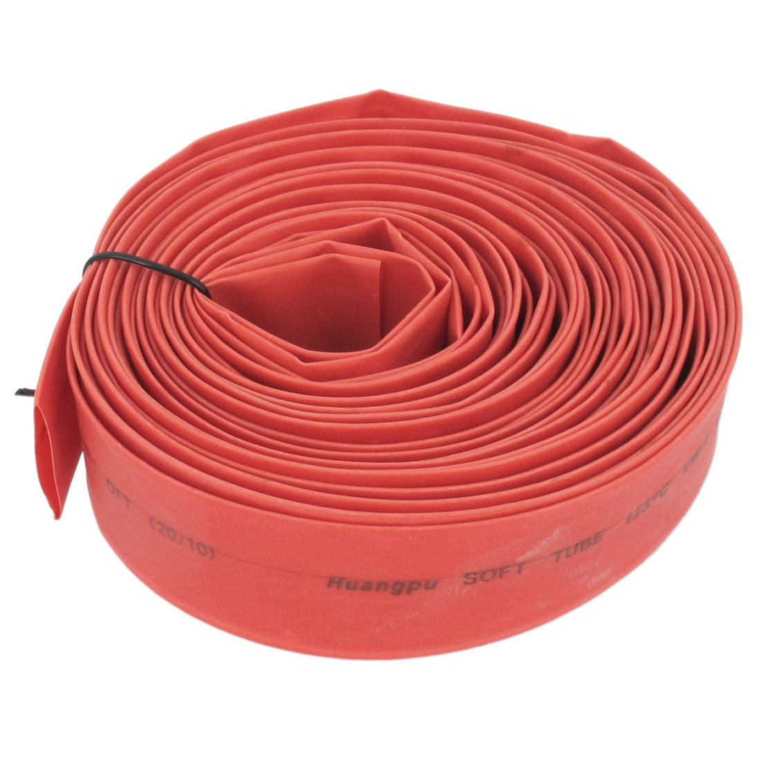 20mm Dia. Heat Shrinkable Tube Shrink Tubing 8m Length Red