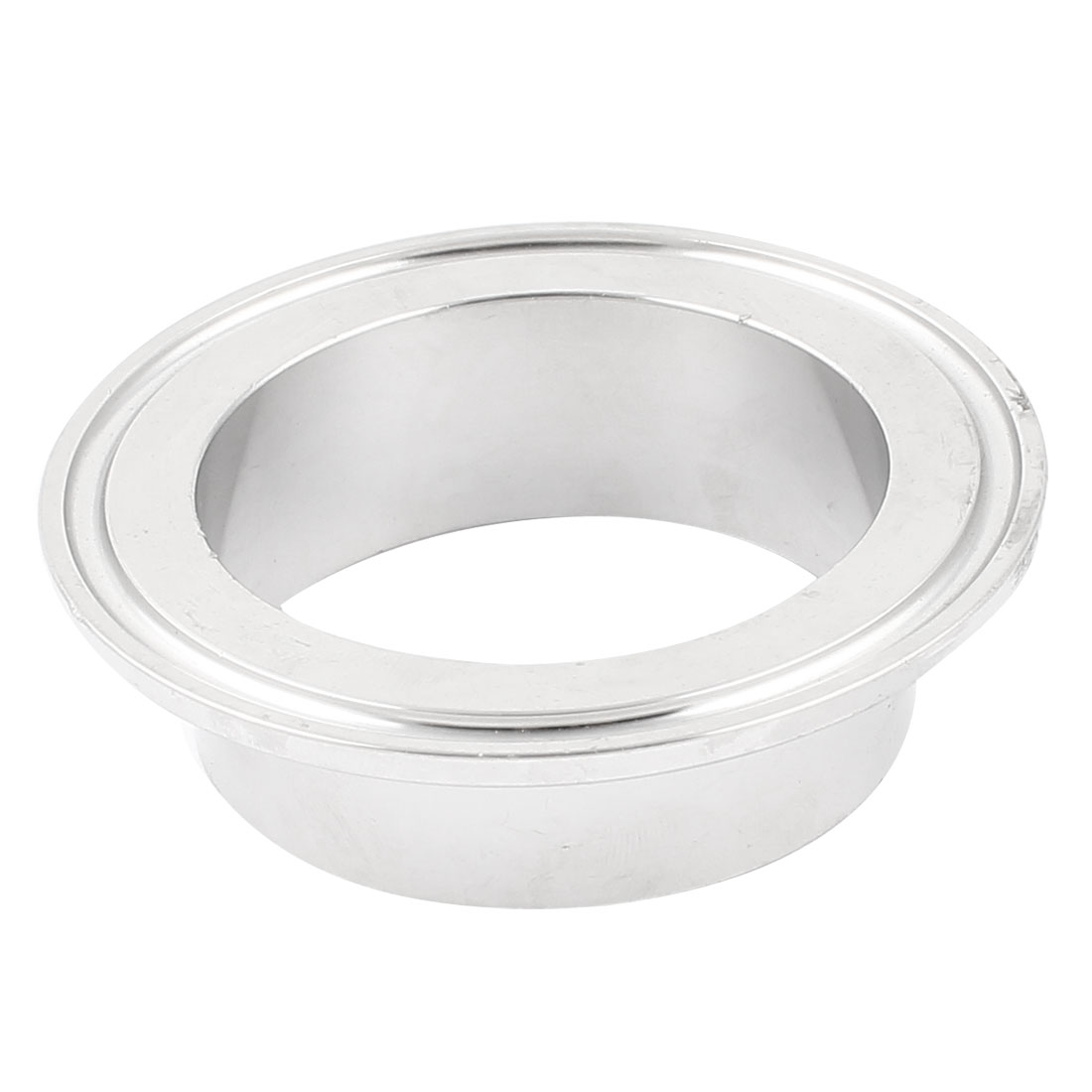 Silver Tone Tri-clamp Type Stainless Steel Hygienic Sanitary Weld Pipe Clamp Clip Ferrule Fitting 77mm