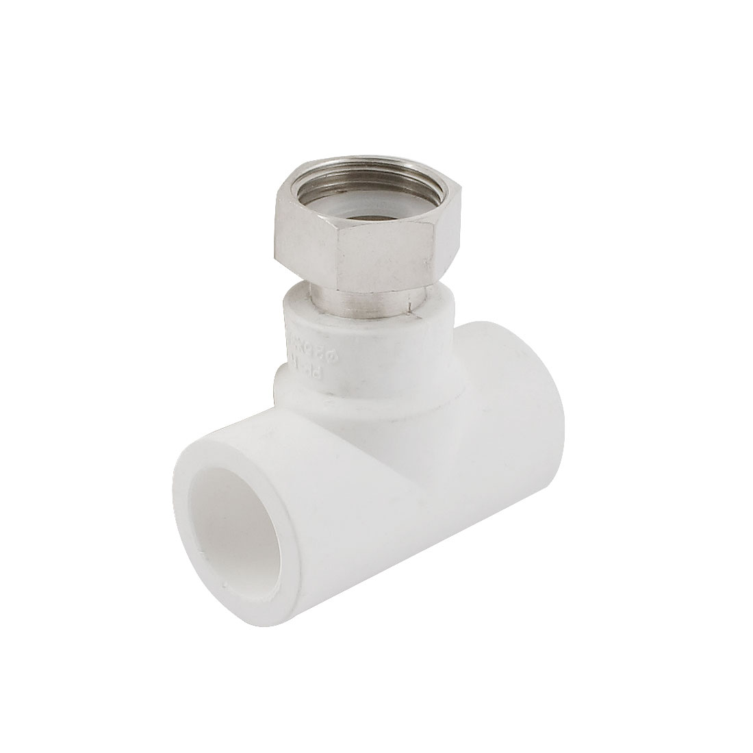 Water Hose Pipe Tube Tee T Fitting Connector 25mm to 3/4PT Female Thread