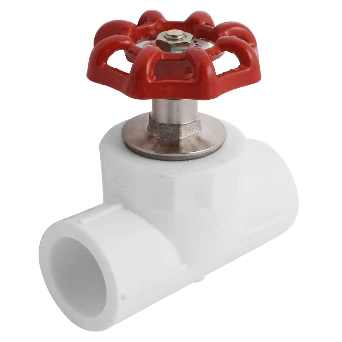 25mm to 25mm Dual Port Red Knob Control Water PPR Gate Valve