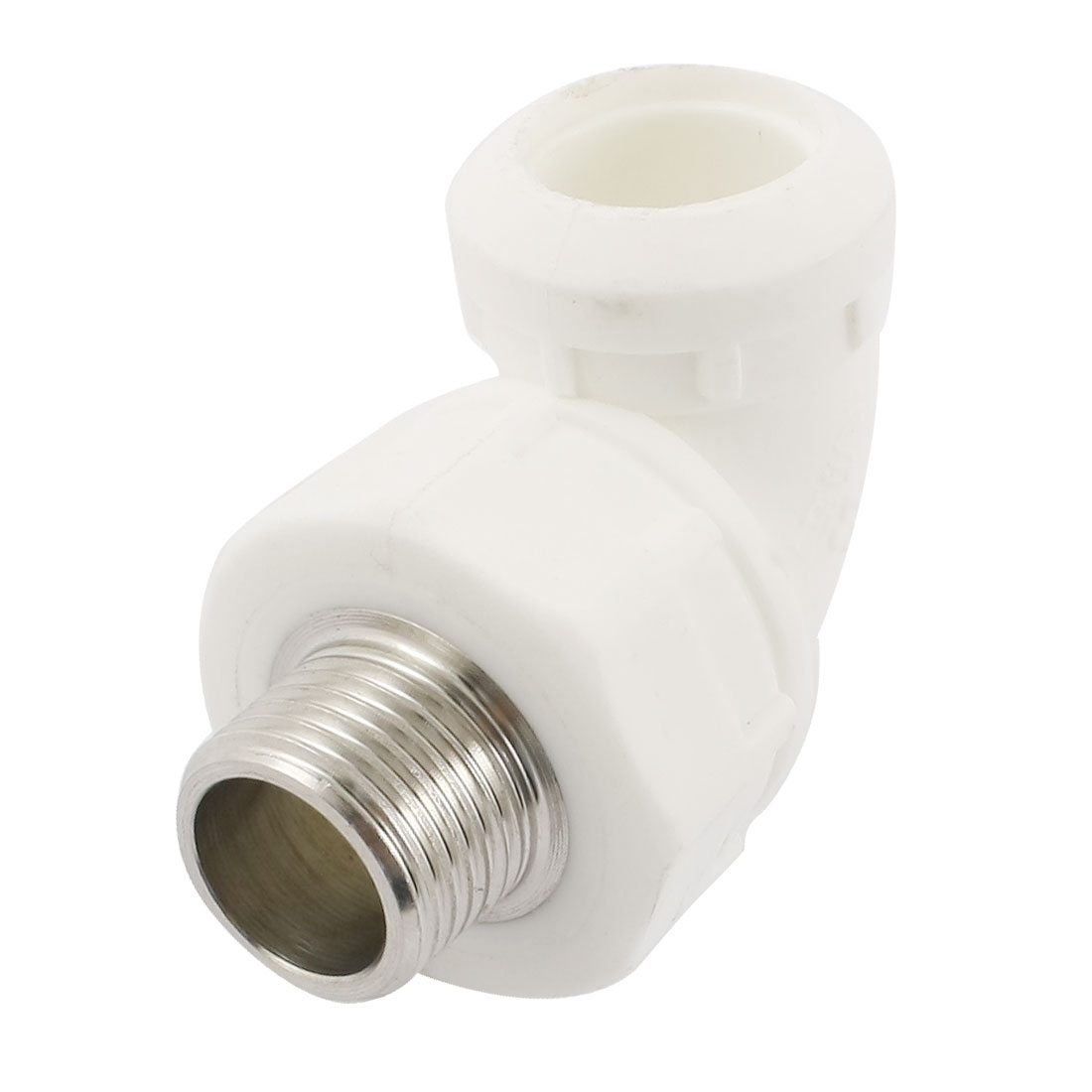 Water Hose Pipe Tube 90 Degree Fitting Connector 20mm to 1/2PT Male Thread