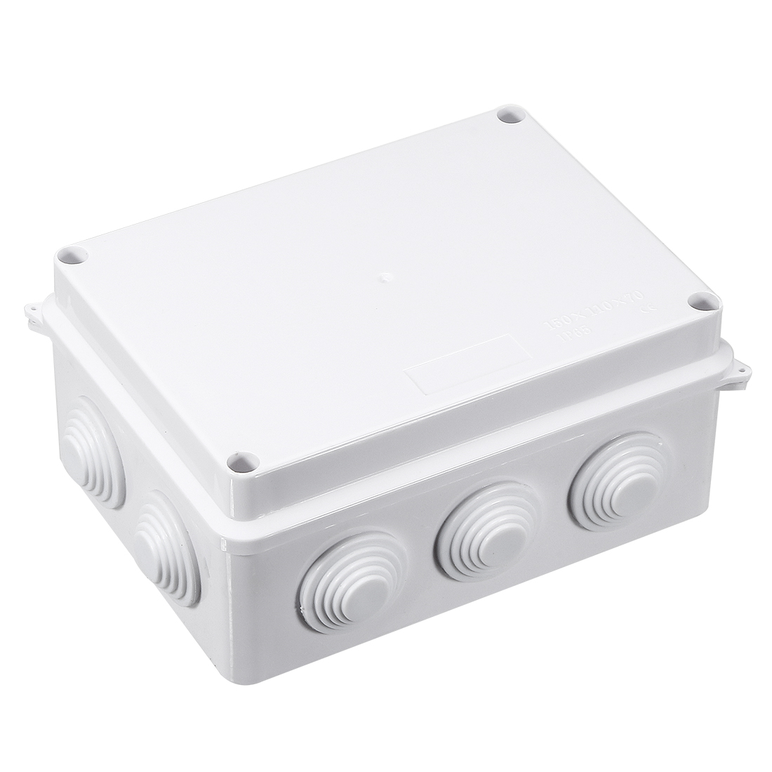 ABS Dustproof IP65 Sealed Electric Cable Junction Box 150x110x70mm