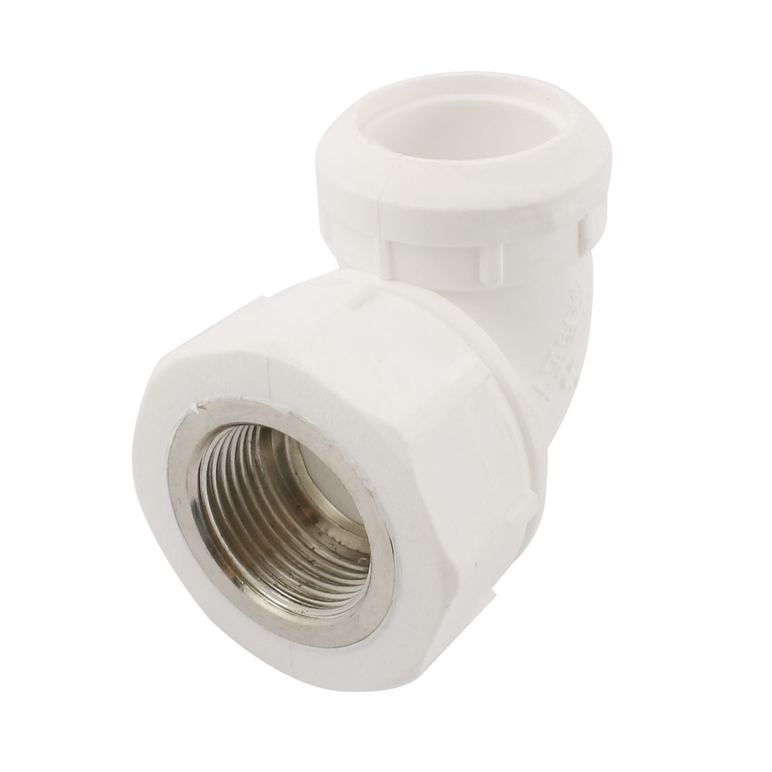 PPR 25mm to 3/4PT Thread Water Pipe Tube Hose Elbow Fitting Adapter Connector