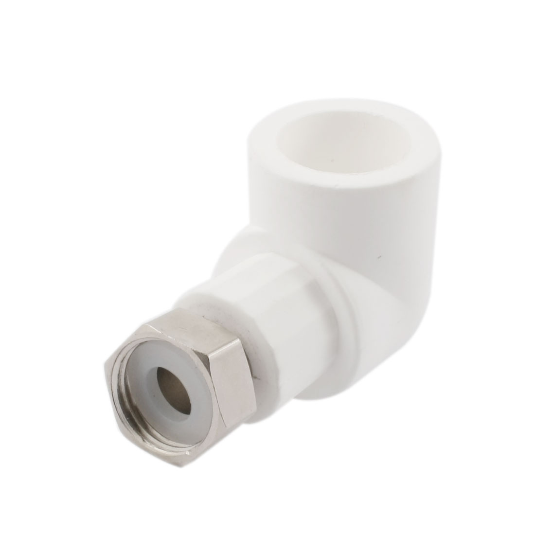 PPR 25mm to 1/2PT Thread Water Pipe Tube Hose Elbow Fitting Adapter Connector
