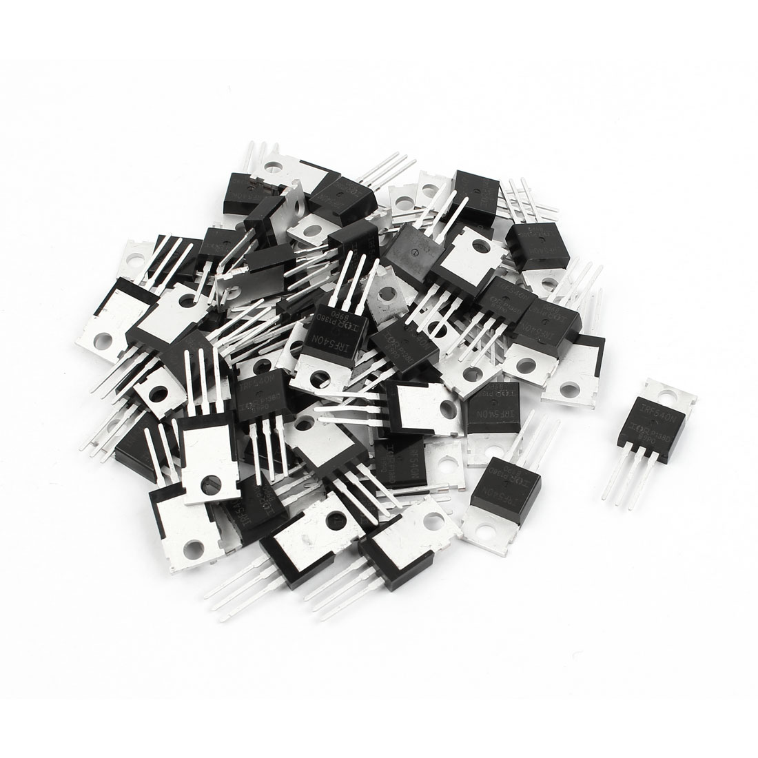 50 Pcs IRF540N TO-220 N-Channel Power MOSFET 100V 33A 0.04Ohm