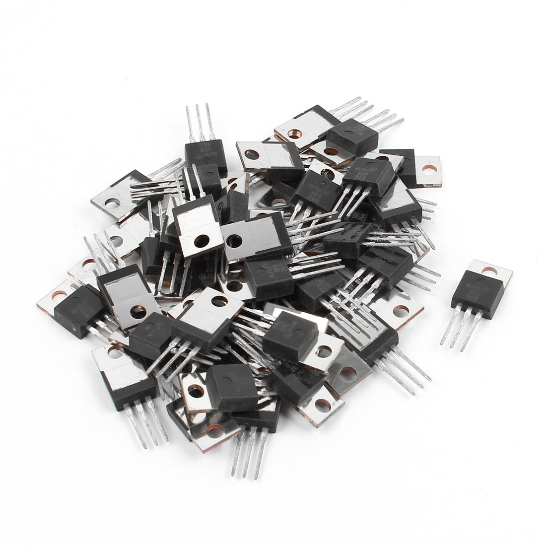 50 Pcs IRF740 TO-220 N-Channel Power MOSFET 400V 10A