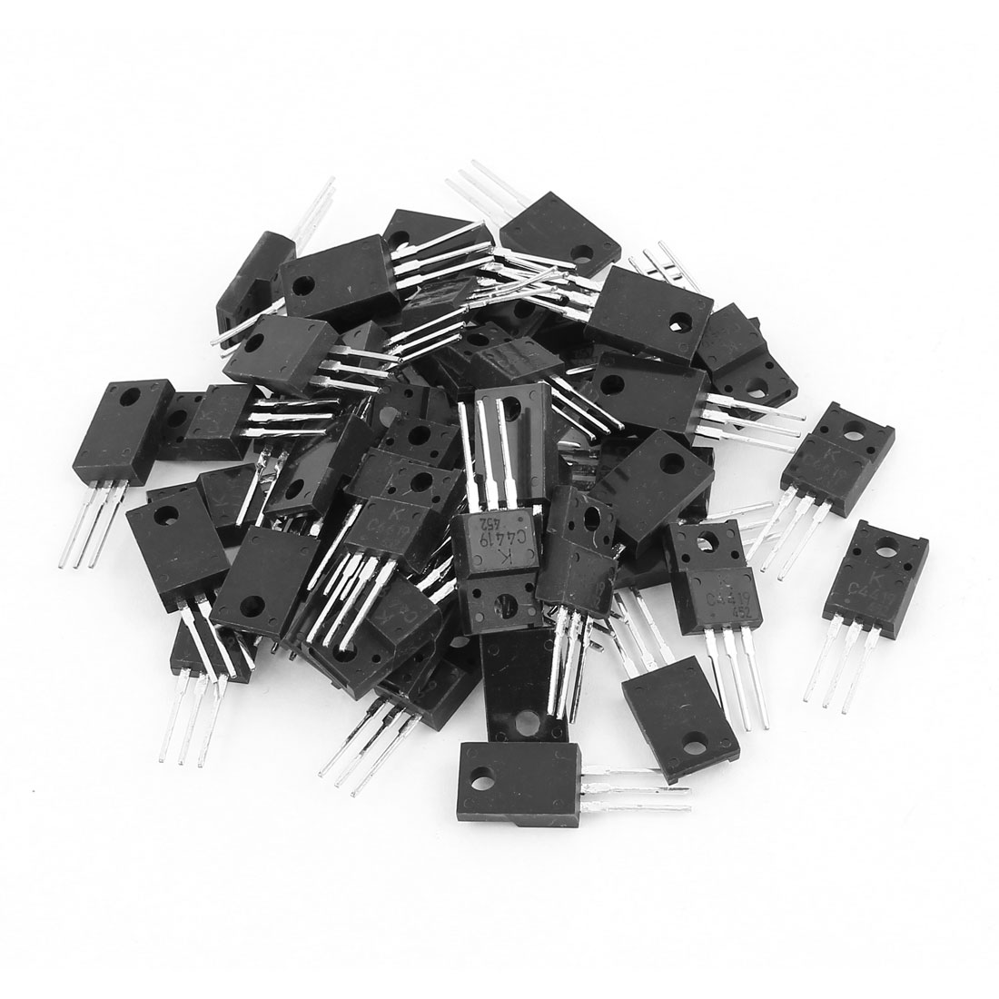 50 Pcs ISC4419 TO-3PN Silicon NPN Power Transistors