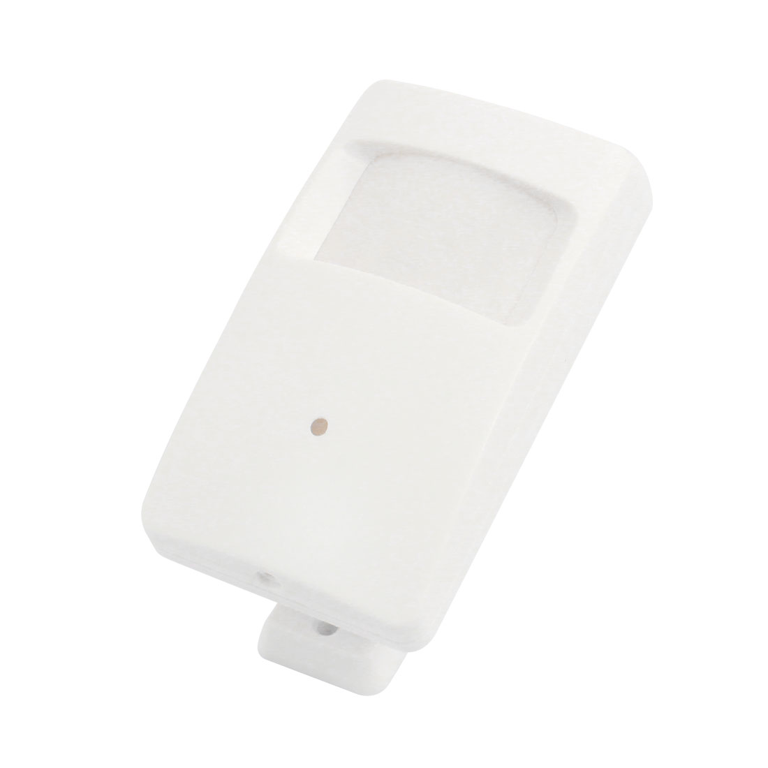 White Plastic PIR CCTV Camera Housing Case 10.4cm x 6cm x 3.3cm