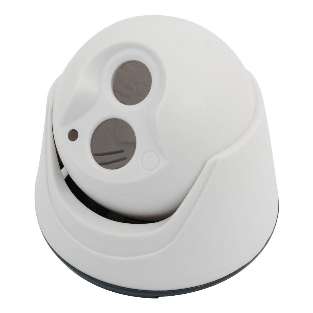 "White Plastic Security CCD Dome Camera Housing Case 3.9"" Dia"