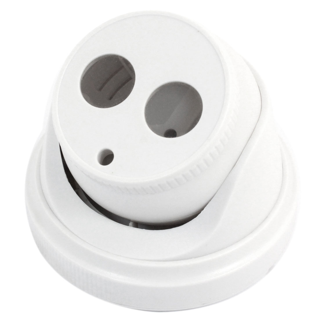 "Surveillance White Plastic CCTV Dome Camera Housing Case 3.1"" High"