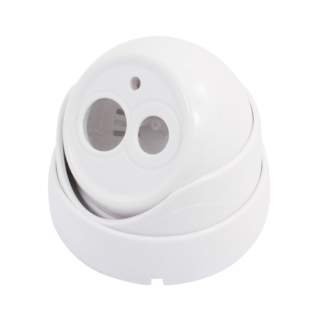 "Indoor White Plastic CCTV Dome Camera Housing Case 4.7"" Dia"