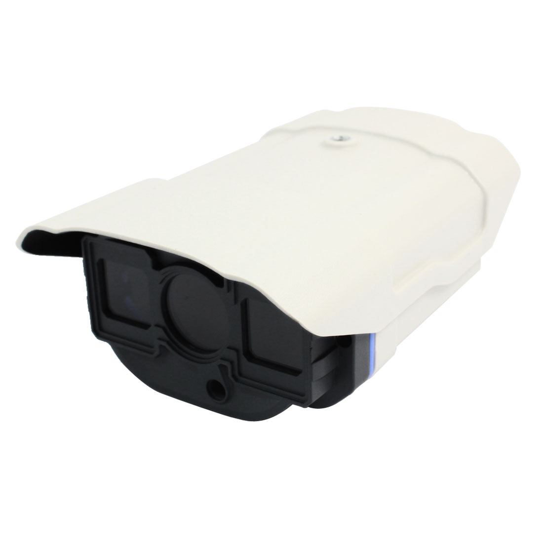 "White Gray Plastic CCD Camera Housing Case 6.3"" x 4.3"" x 2.5"""