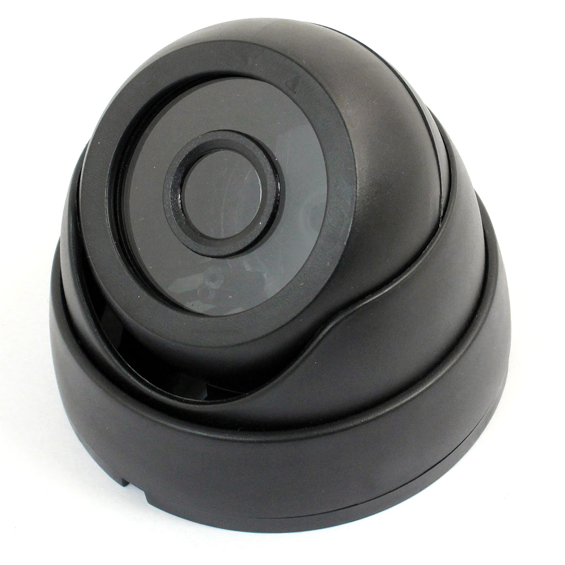 "Surveillance Black Plastic CCTV Dome Camera Housing Case 3.6"" Dia"