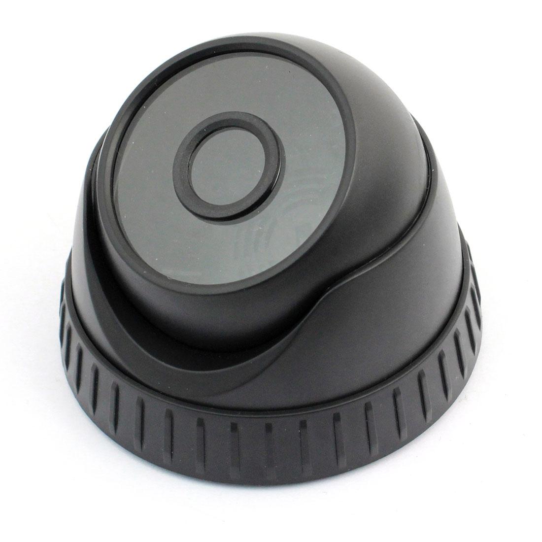 "Surveillance Black Plastic CCTV Dome Camera Housing Case 3.6"" Dia"