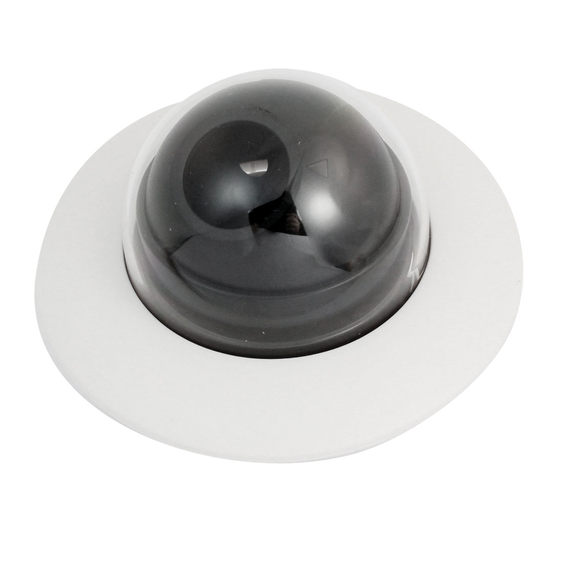 Flying Saucer Shaped White Plastic CCTV Dome Camera Housing Case
