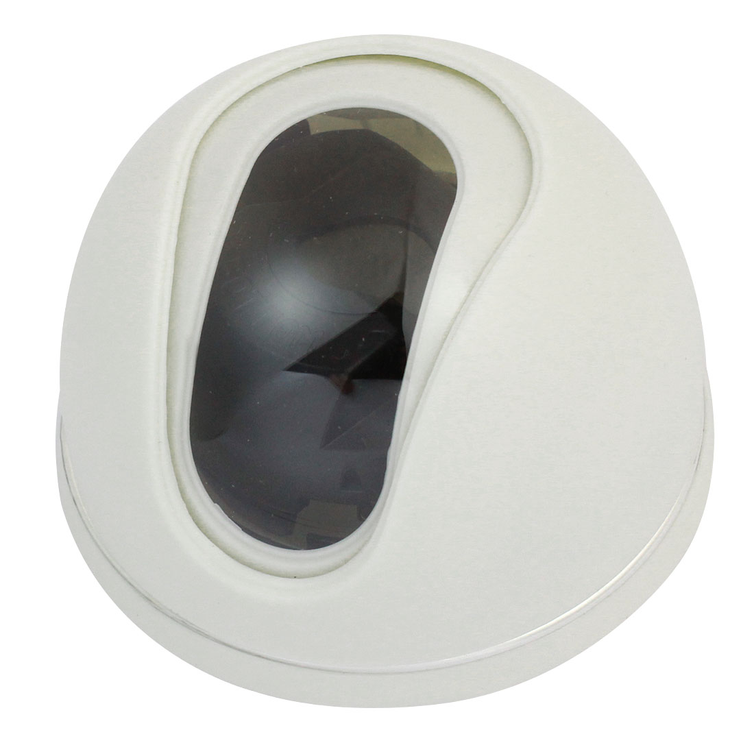 "Indoor 2.2"" High White Plastic CCTV Dome Camera Housing Case"