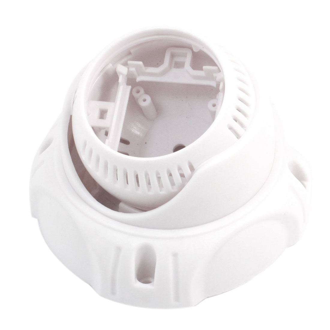 "Surveillance White Plastic CCTV Dome Camera Housing Case 4.2"" Dia"